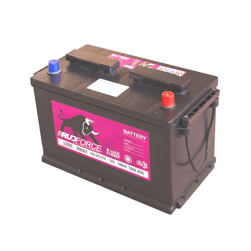 Battery 100 Ah 800 A +RH (code RB001)