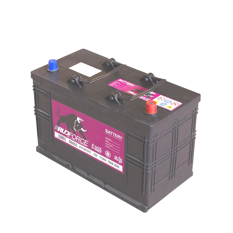Battery 110 Ah 760 A +RH (code RB003)