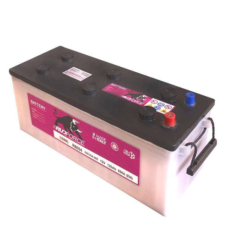 Battery 125 Ah 850 A +LX (code RB004)