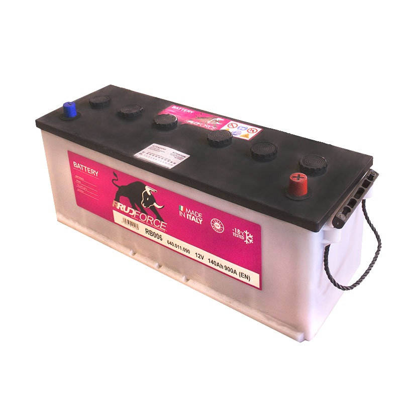 Battery 140 Ah 900 A +RH (code RB006)