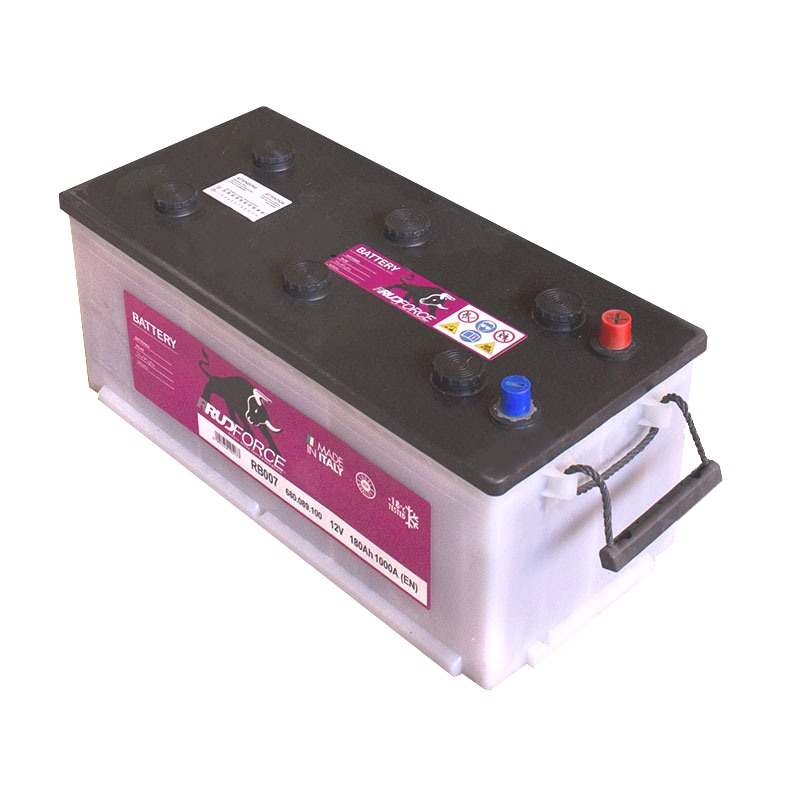 Battery 180 Ah 1000 A +RH (code RB007)