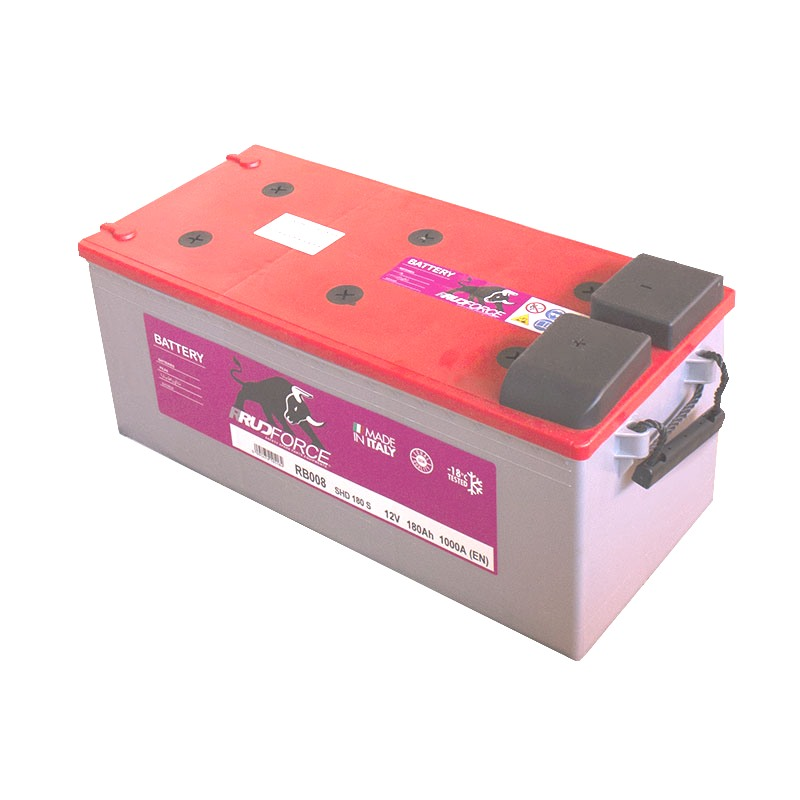 Battery 180 Ah 1000 A +LX (code RB008)