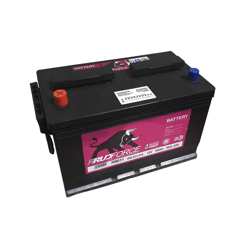 Battery 100 Ah 760 A +LX (code RB011)
