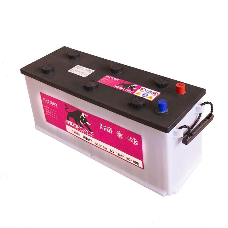 Battery 120 Ah 800 A +RH (code RB012)