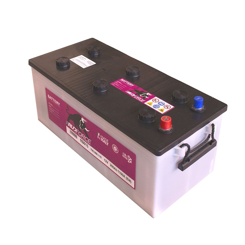 Battery 200 Ah 1100 A +LX (code RB015)