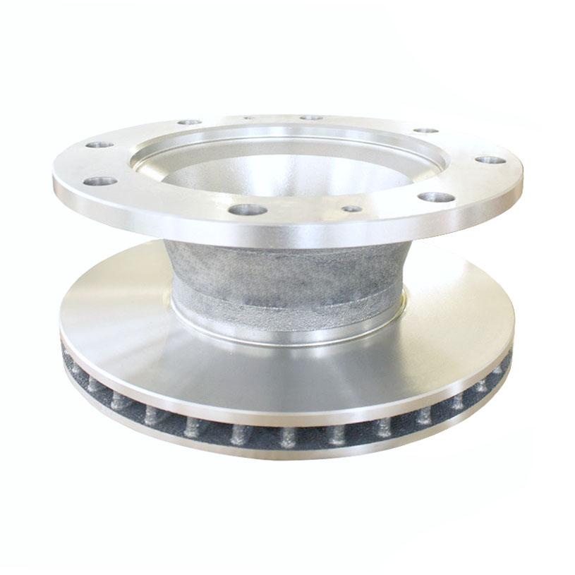 Rrudforce front/rear brake disc for Iveco Eurocargo (1908578)