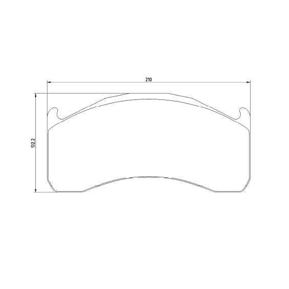 Brake pads WVA 29137